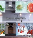 Кухня пластик 13