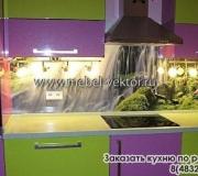 Кухня пластик 10