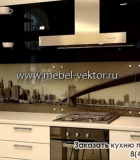 Кухня пластик 15