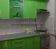 Кухня пластик 27