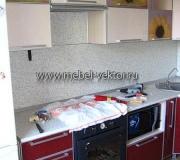 Кухня пластик 28