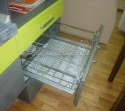 Кухня из пластика 13
