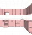 Проект кухни 01<br />от 65000 руб.