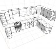 Проект кухни 01<br/>от 65000 руб.