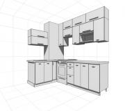 Проект кухни 03<br/>от 50000 руб.