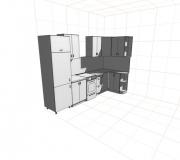 Проект кухни 02<br/>от 35000 руб.