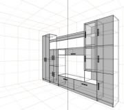 Проект стенки<br />от 20000 руб.