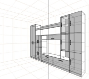 Проект стенки<br/>от 20000 руб.