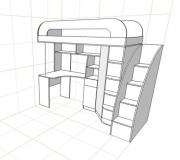 Кровать 2-х ярусная<br/>от 15000 руб